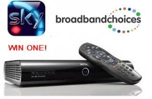 Win a brand new Sky+ HD 2TB box!